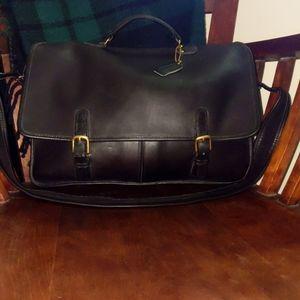 Vtg Coach Executive briefcase messenger bag  1991